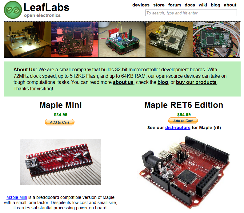 leaflabs-Maple board