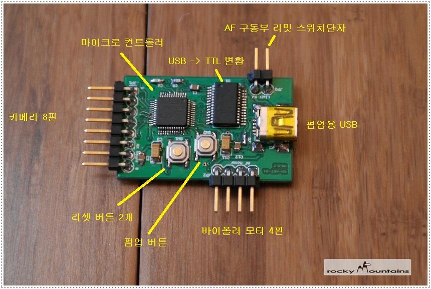 새 PCB 구성 설명