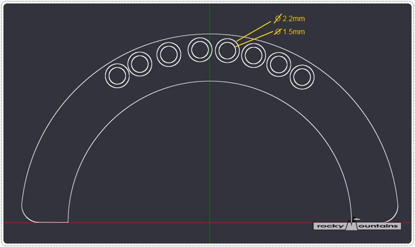 렌즈 마운트 접점 디자인
