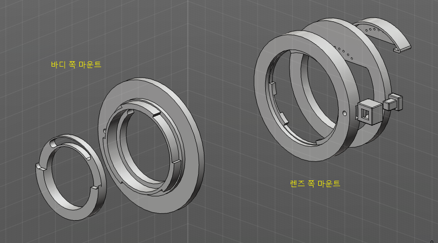NX용 AF 접사 튜브 설계 - 1
