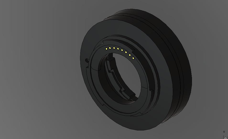 NX용 AF 접사 튜브 가설계 - 02