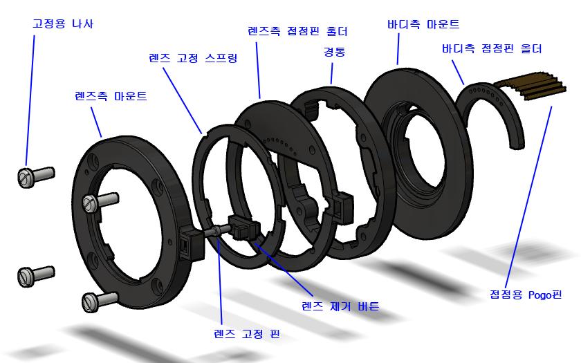 NX용 접사링 세부 설계