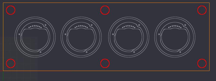 16mm 접사튜브 경통 절삭 디자인