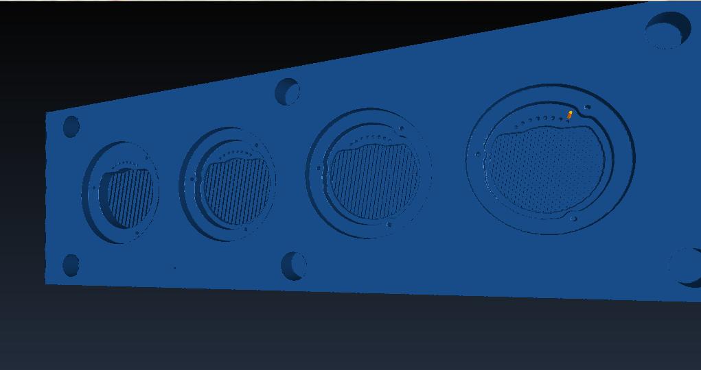 16mm 접사튜브 경통 절삭 G code 시뮬레이션 1